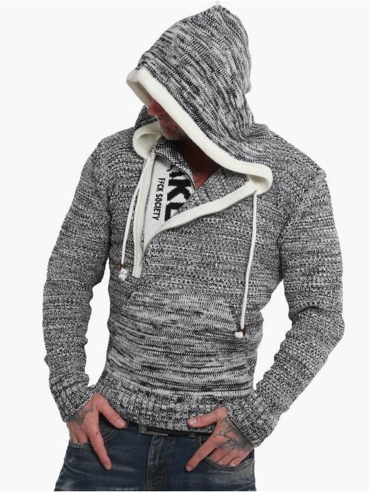 Yakuza Толстовка Geep Knit серый