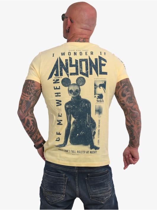 Yakuza Футболка Anyone желтый