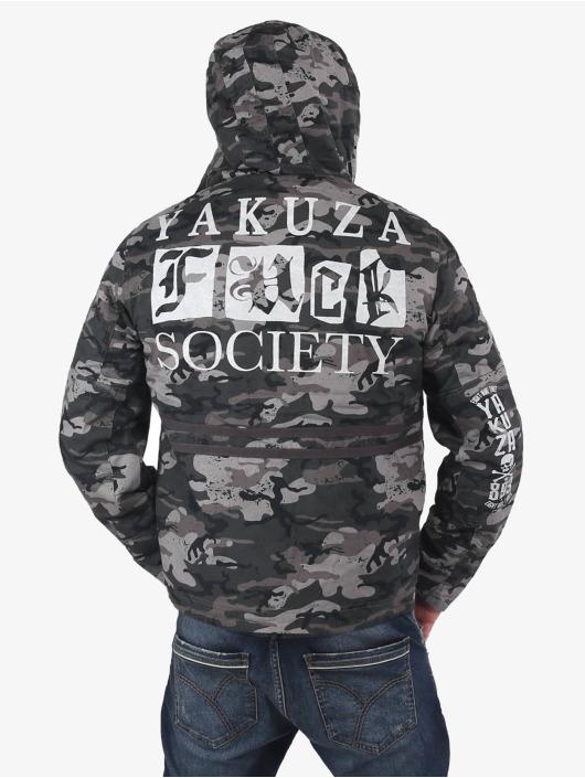 Yakuza парка Fuck Society камуфляж