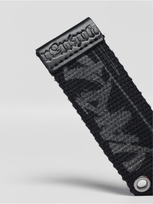 Yakuza Bælte Rookie Canvas sort
