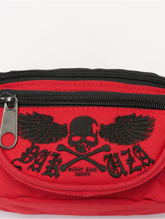 Yakuza Bag Fyling Skull red