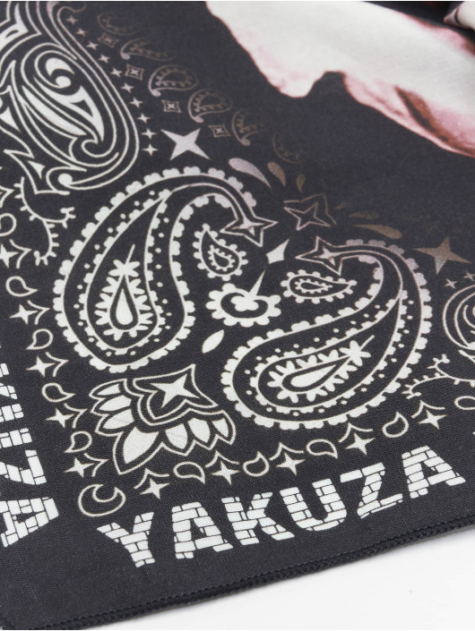 Yakuza Bandana Muerte schwarz