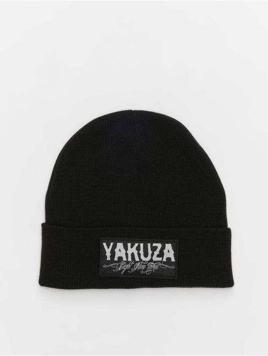 Yakuza Beanie Claim Knit schwarz