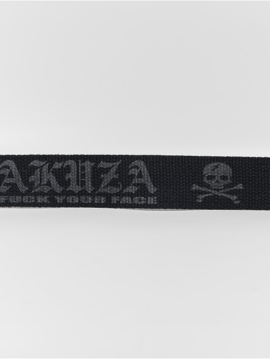 Yakuza Belt Daily Canvas black