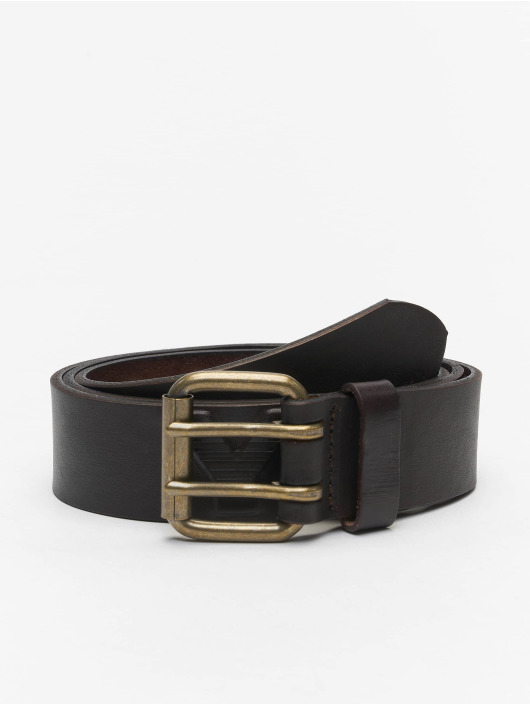 Yakuza Belt Profile Leather brown