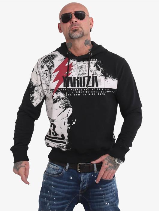 Yakuza Bluzy z kapturem Crucified czarny