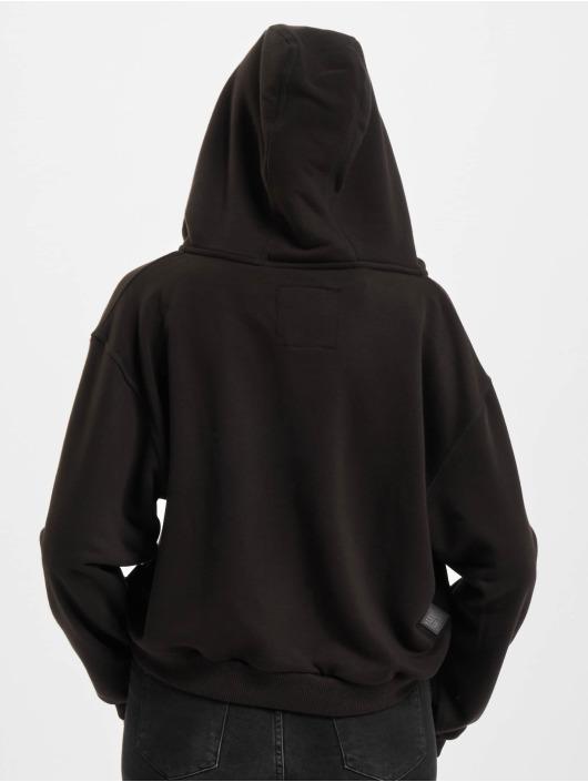 Yakuza Bluzy z kapturem Angel Cropped czarny