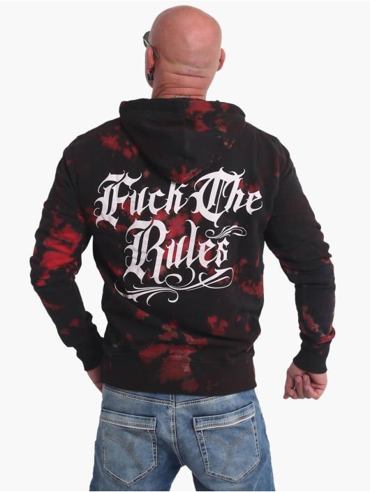 Yakuza Bluzy z kapturem Rules Batik czarny