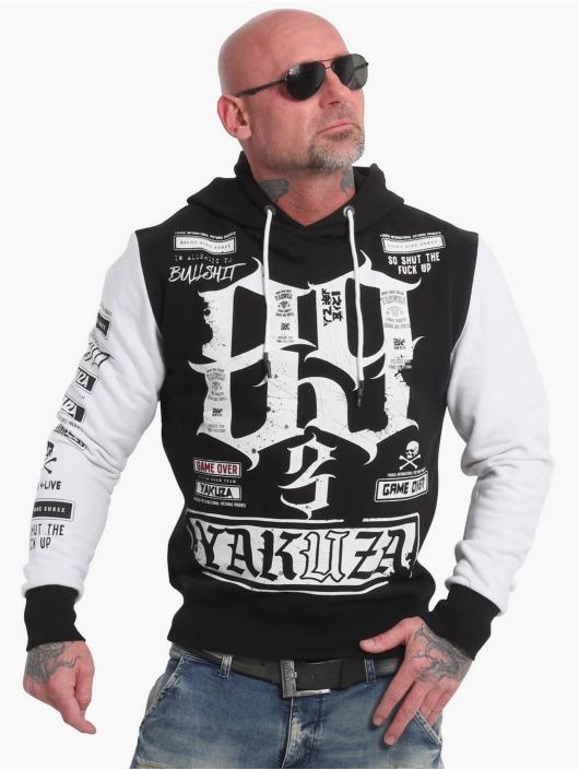 Yakuza Bluzy z kapturem Die Hard Two Face czarny