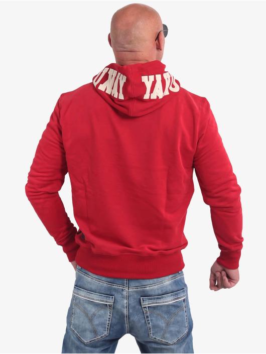Yakuza Bluzy z kapturem 893App czerwony