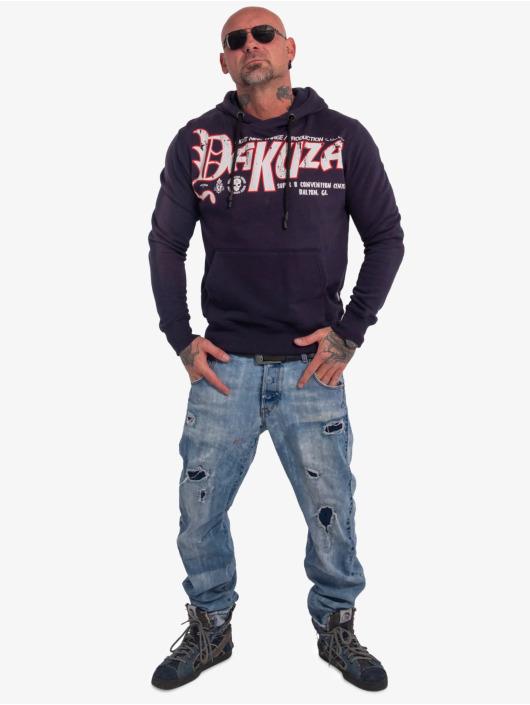 Yakuza Bluzy z kapturem Scrap niebieski
