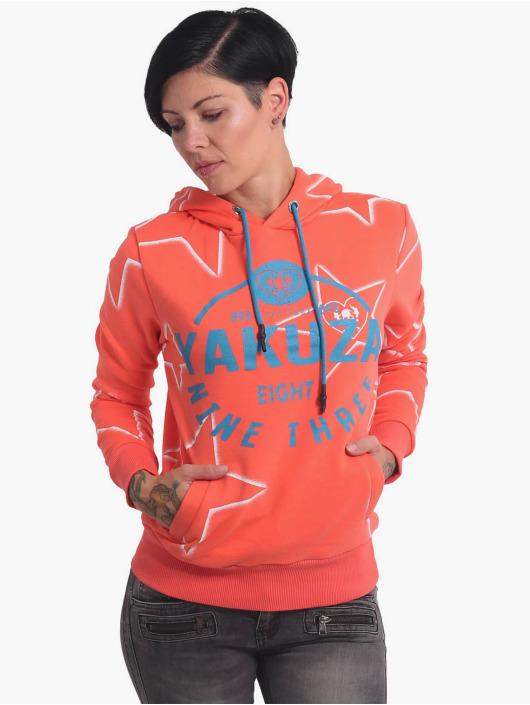 Yakuza Bluzy z kapturem 893Starlet pomaranczowy