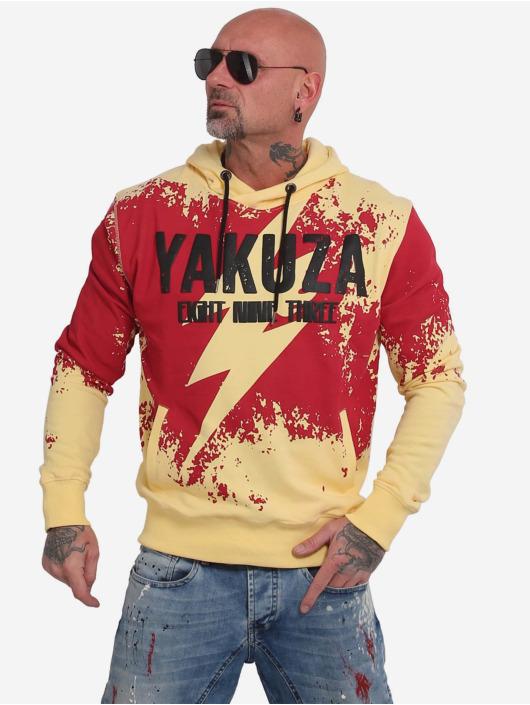 Yakuza Bluzy z kapturem Lightning zólty