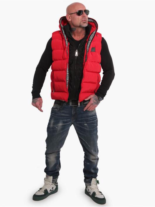 Yakuza Bodywarmer Fck Society 2Pad rood