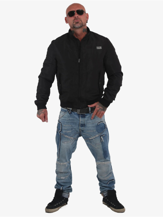 Yakuza Bomber jacket Aces black