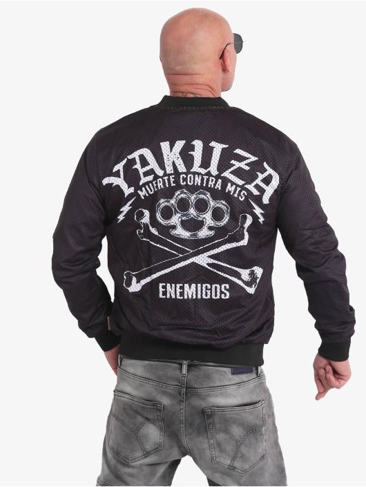 Yakuza Bomber jacket Muerte Mesh black
