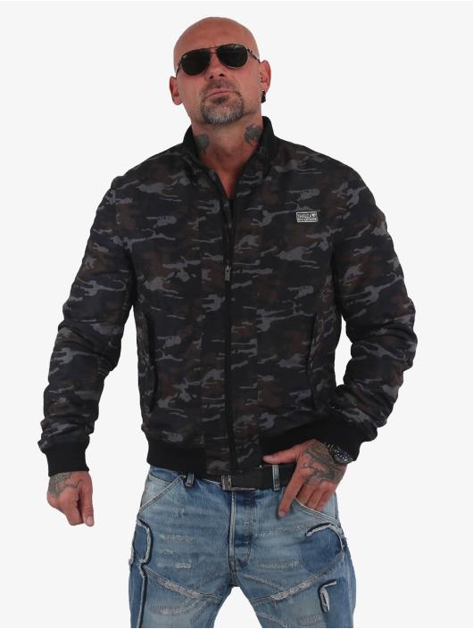 Yakuza Bomber jacket Aces camouflage