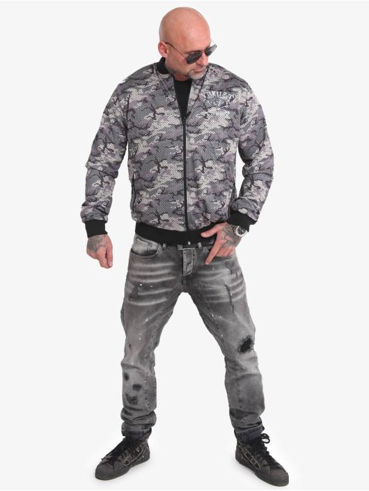 Yakuza Bomber jacket Muerte Mesh camouflage