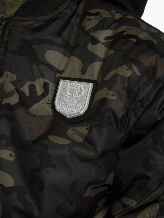 Yakuza Bomberjack Rookie camouflage