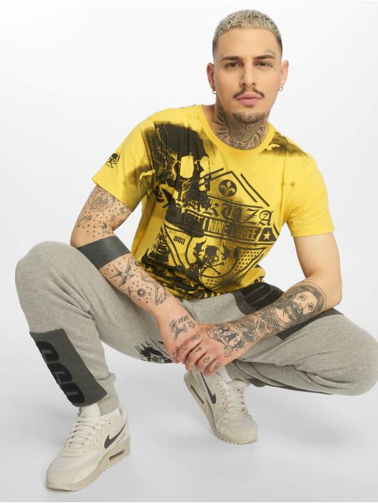 Yakuza Camiseta Xray amarillo