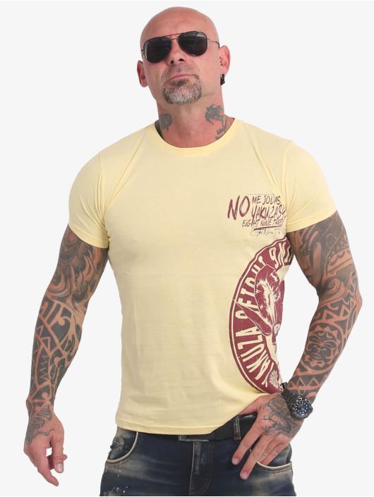 Yakuza Camiseta Jodas amarillo