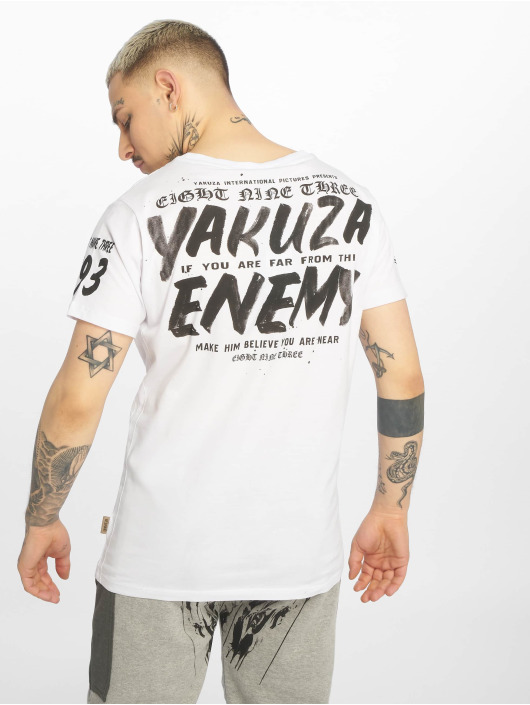 Yakuza Camiseta Enemy blanco