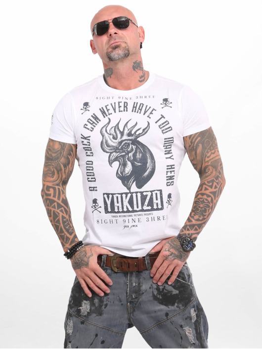Yakuza Camiseta Good Cock blanco