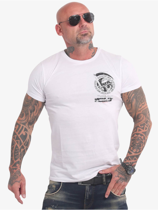 Yakuza Camiseta Neither The Sun blanco