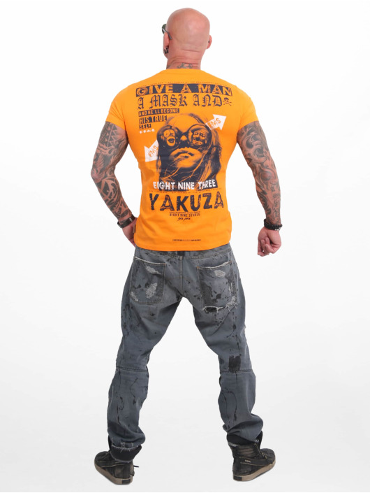 Yakuza Camiseta Fly naranja