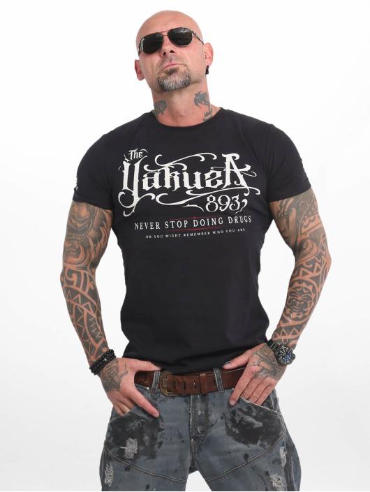 Yakuza Camiseta Never Stop negro