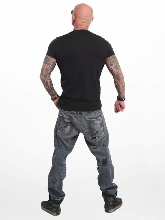 Yakuza Camiseta Basic Line 4W negro