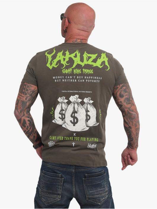 Yakuza Camiseta Buy Happiness oliva