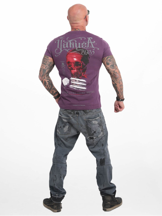 Yakuza Camiseta Never Stop púrpura