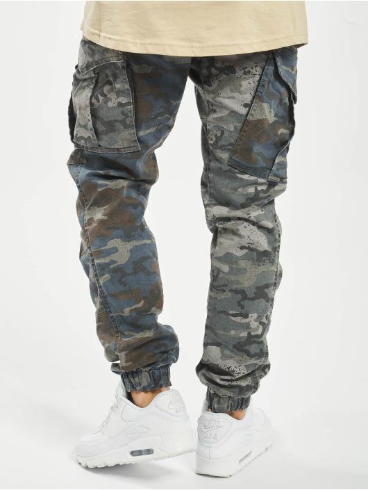 Yakuza Cargo pants Harlekin kamufláž