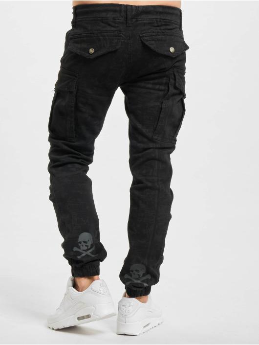 Yakuza Cargo pants Allover Jogging svart