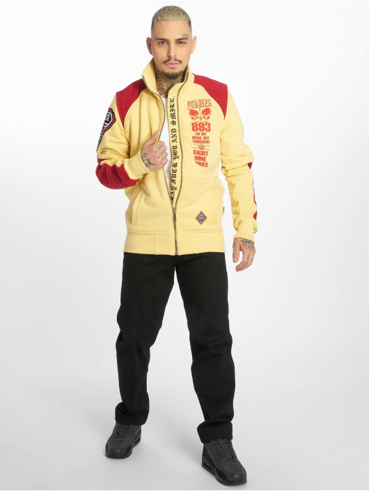 Yakuza Chaqueta de entretiempo Lily Skull Two Face Training amarillo