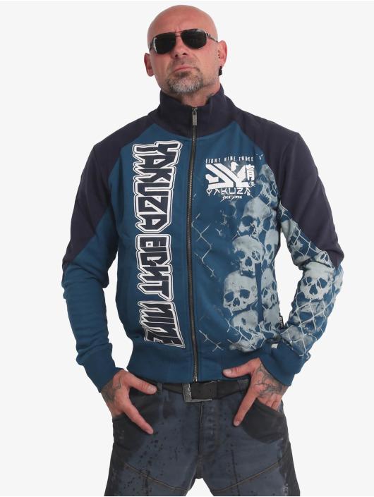 Yakuza Chaqueta de entretiempo Killing Fields Classic azul