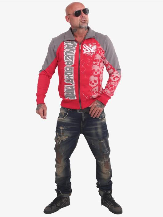 Yakuza Chaqueta de entretiempo Killing Fields Classic rojo