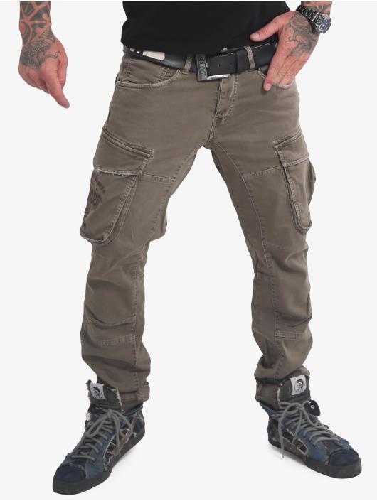 Yakuza Chino bukser Old Firm Cargo oliven