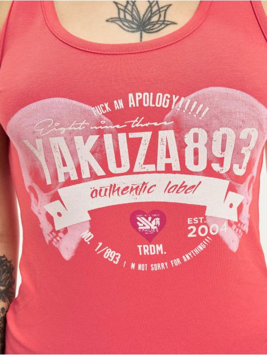 Yakuza Débardeur Authentic Slash rouge