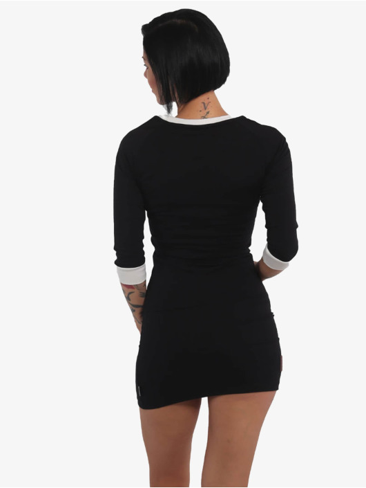 Yakuza Dress 893 Love Bodycon black
