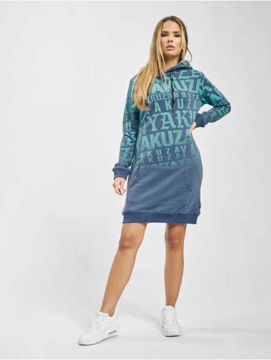 Yakuza Dress Branding blue