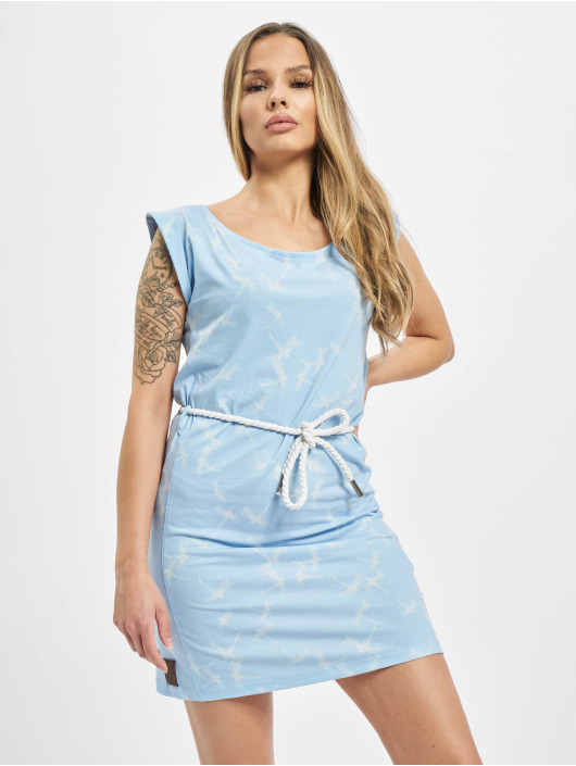 Yakuza Dress Dragon Fly blue