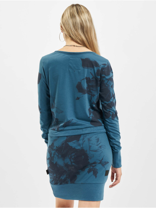 Yakuza Dress Florid blue