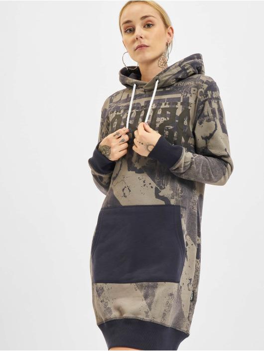 Yakuza Dress Grunge Sweat blue