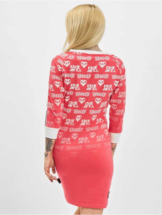 Yakuza Dress Logo Love Bodycon pink