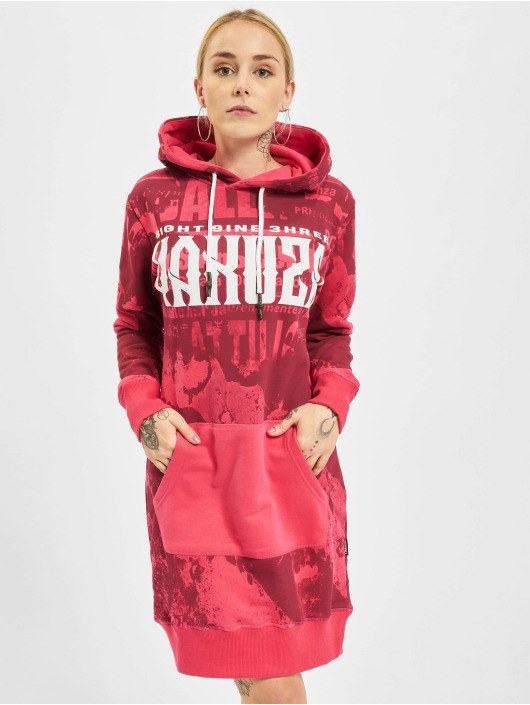 Yakuza Dress Grunge red