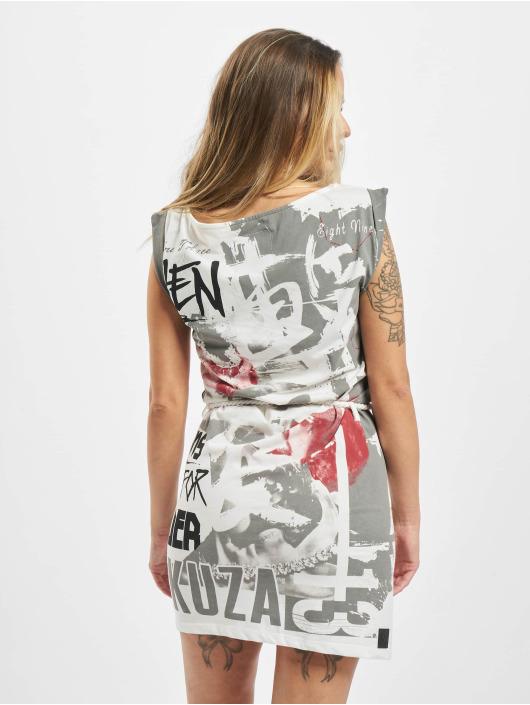 Yakuza Dress Run For Cover white