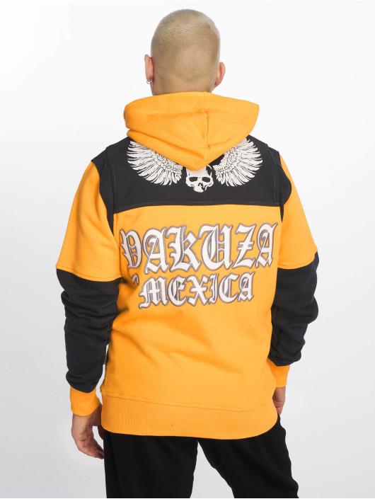 Yakuza Felpa con cappuccio Mexica Two Face giallo