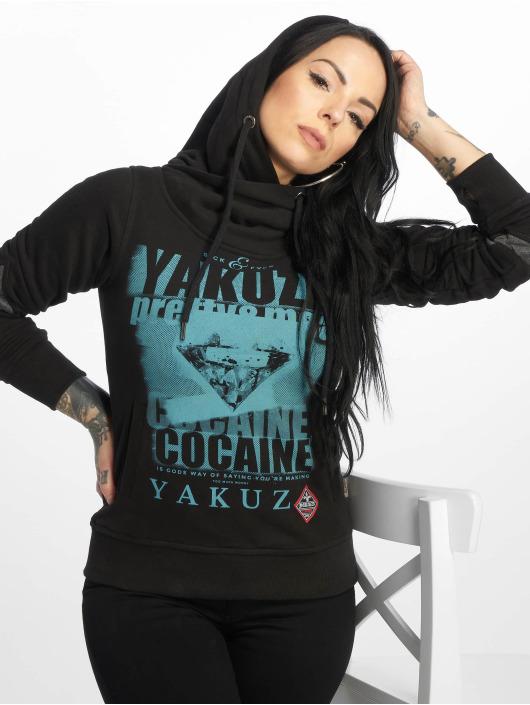 Yakuza Felpa con cappuccio Cocaine Two Face nero